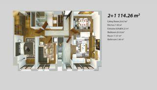 Современный Проект для Инвестирования в Стамбуле, Планировка -9
