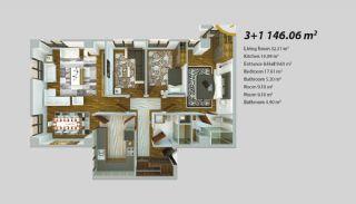 Современный Проект для Инвестирования в Стамбуле, Планировка -10