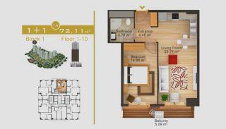 Exklusive Wohnungen in Istanbul, Immobilienplaene-2