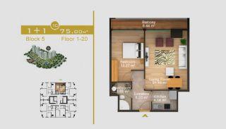 Exklusive Wohnungen in Istanbul, Immobilienplaene-3