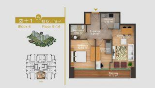 Эксклюзивные Квартиры в Стамбуле, Планировка -4