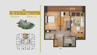 Эксклюзивные Квартиры в Стамбуле, Планировка -5