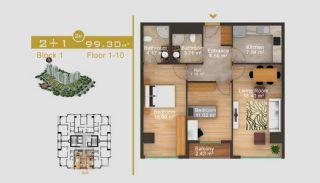 Exklusive Wohnungen in Istanbul, Immobilienplaene-6