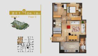 Эксклюзивные Квартиры в Стамбуле, Планировка -7