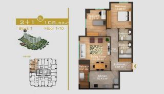 Эксклюзивные Квартиры в Стамбуле, Планировка -8