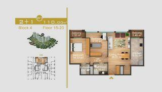 Эксклюзивные Квартиры в Стамбуле, Планировка -9