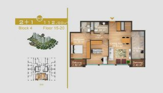 Exklusive Wohnungen in Istanbul, Immobilienplaene-10