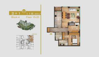 Эксклюзивные Квартиры в Стамбуле, Планировка -11