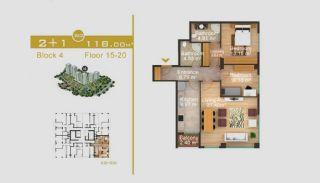 Эксклюзивные Квартиры в Стамбуле, Планировка -12
