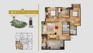 Exklusive Wohnungen in Istanbul, Immobilienplaene-13