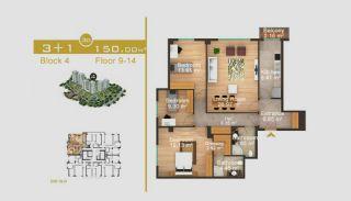 Exklusive Wohnungen in Istanbul, Immobilienplaene-14
