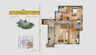 Exklusive Wohnungen in Istanbul, Immobilienplaene-15