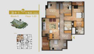 Exklusive Wohnungen in Istanbul, Immobilienplaene-16