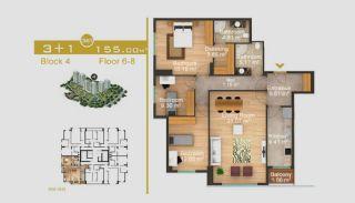 Exklusive Wohnungen in Istanbul, Immobilienplaene-17