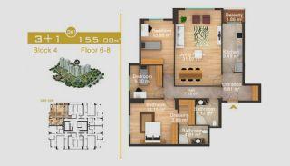 Exklusive Wohnungen in Istanbul, Immobilienplaene-18