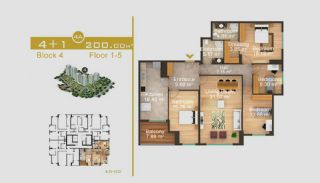Эксклюзивные Квартиры в Стамбуле, Планировка -19