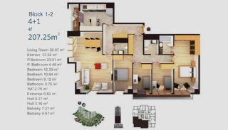 Exklusive Wohnungen in Istanbul, Immobilienplaene-20