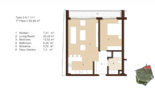 Traditional Apartments for Sale in Istanbul, Property Plans-2