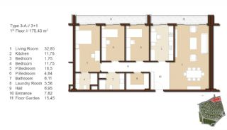 Traditional Apartments for Sale in Istanbul, Property Plans-3