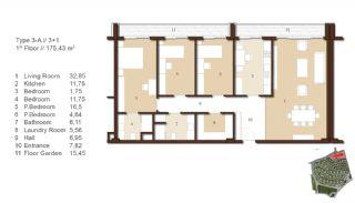 Traditionella Lägenheter till Salu i Istanbul, Planritningar-3