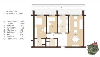 Traditionella Lägenheter till Salu i Istanbul, Planritningar-4