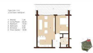 Traditionella Lägenheter till Salu i Istanbul, Planritningar-5