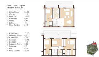 Traditionella Lägenheter till Salu i Istanbul, Planritningar-7