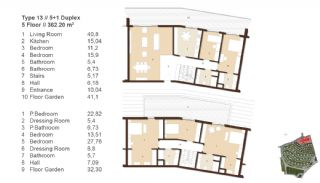 Traditionella Lägenheter till Salu i Istanbul, Planritningar-8