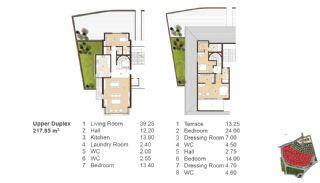 Traditionella Lägenheter till Salu i Istanbul, Planritningar-10