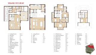 Traditional Apartments for Sale in Istanbul, Property Plans-12