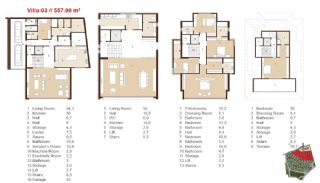 Traditional Apartments for Sale in Istanbul, Property Plans-13