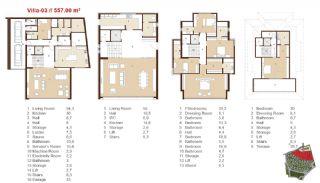 Traditionella Lägenheter till Salu i Istanbul, Planritningar-13