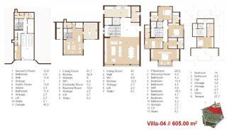Traditionella Lägenheter till Salu i Istanbul, Planritningar-14