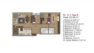 Immobilien Projekt in Istanbul, Immobilienplaene-12