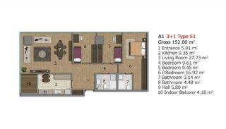 Immobilien Projekt in Istanbul, Immobilienplaene-14