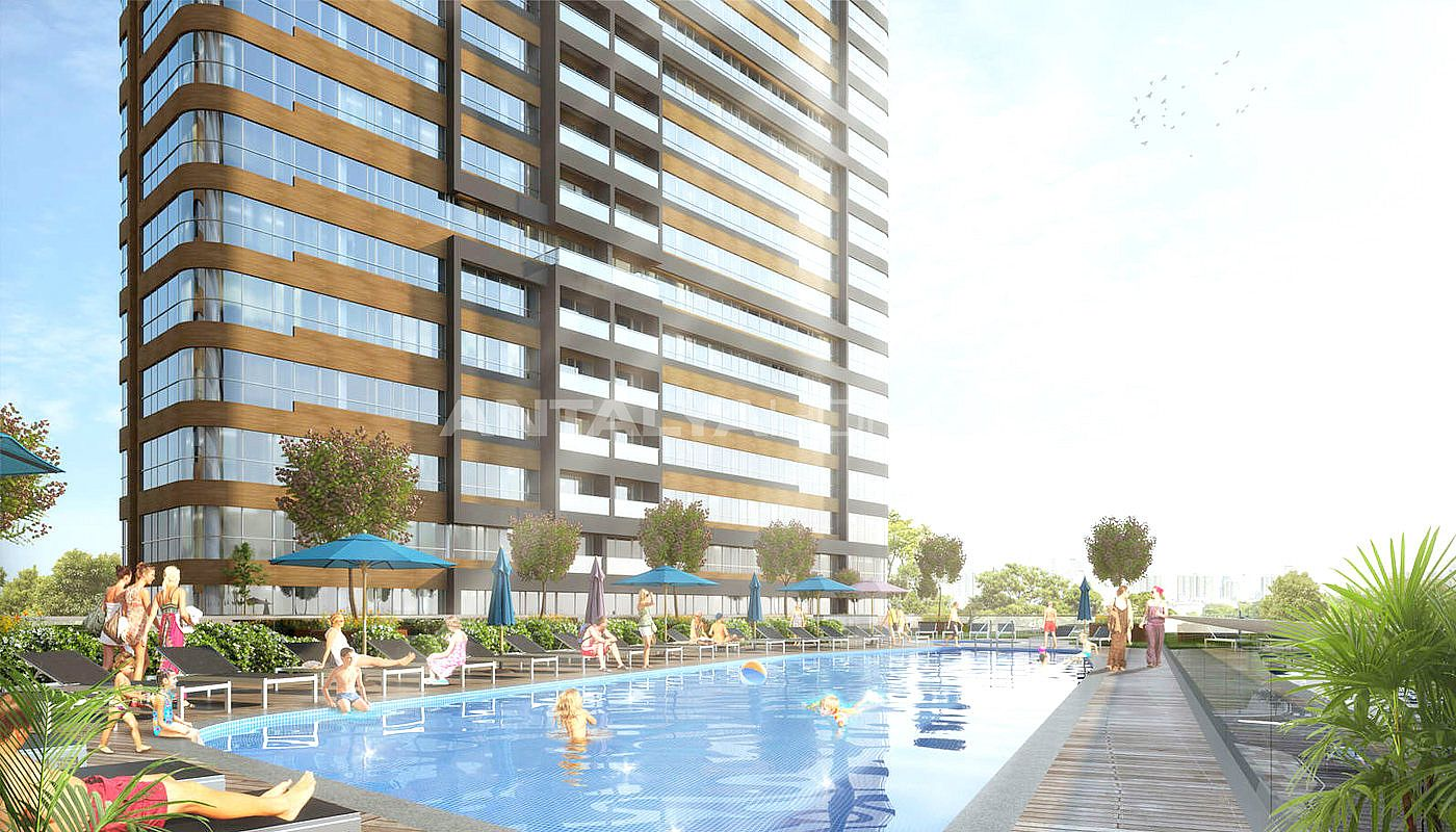 centrally complex of new apartments for sale in kadikoy istanbul. Black Bedroom Furniture Sets. Home Design Ideas