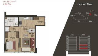 Neue Wohnungen in Istanbul zum Verkauf, Immobilienplaene-3