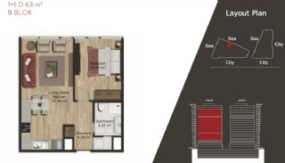 Neue Wohnungen in Istanbul zum Verkauf, Immobilienplaene-6
