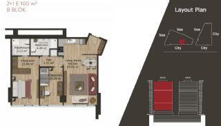 Neue Wohnungen in Istanbul zum Verkauf, Immobilienplaene-12