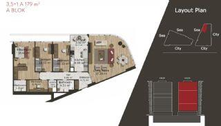 Neue Wohnungen in Istanbul zum Verkauf, Immobilienplaene-19