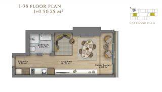 First Class Investment Apartments in Şişli İstanbul, Property Plans-2