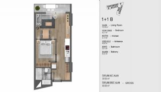 Turkey Apartments for Sale in Istanbul with Sea View, Property Plans-2