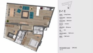 Turkey Apartments for Sale in Istanbul with Sea View, Property Plans-8