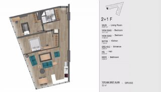 Turkey Apartments for Sale in Istanbul with Sea View, Property Plans-9