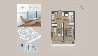 Seafront Istanbul Apartments for Sale in Zeytinburnu, Property Plans-2