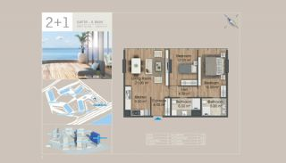 Seafront Istanbul Apartments for Sale in Zeytinburnu, Property Plans-4