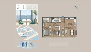 Seafront Istanbul Apartments for Sale in Zeytinburnu, Property Plans-5