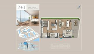 Seafront Istanbul Apartments for Sale in Zeytinburnu, Property Plans-6