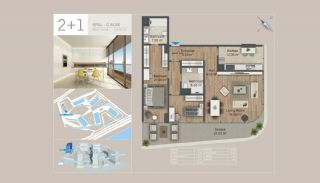 Seafront Istanbul Apartments for Sale in Zeytinburnu, Property Plans-7