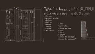 Istanbul lägenheter till salu i Beylikdüzü, Planritningar-2